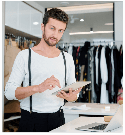iVend Retail provides an out-of-the-box integration to Magento Commerce