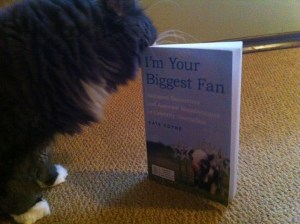 Smokey is showing unprecedented interest in this book