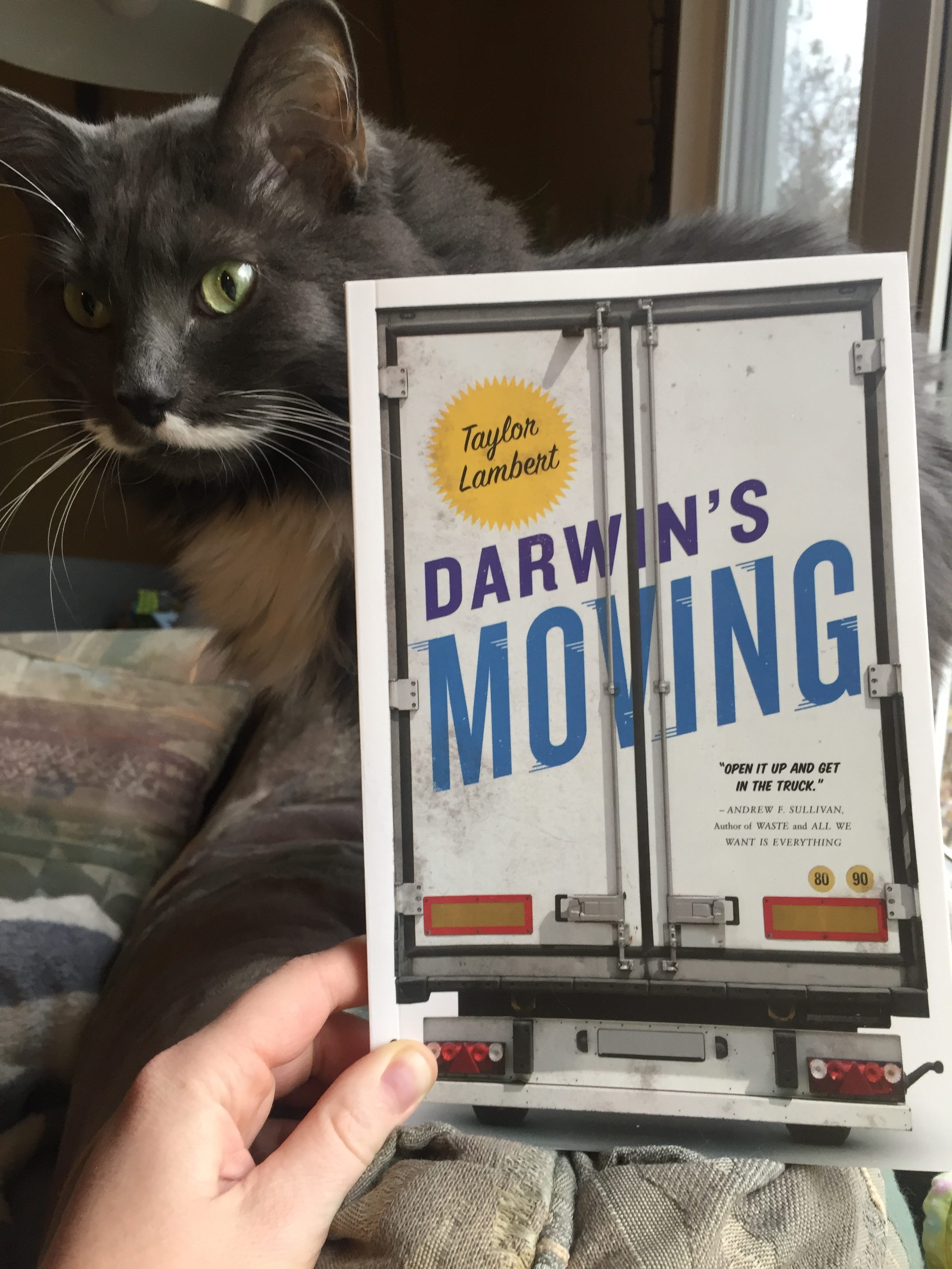 Darwin'd Moving, Book