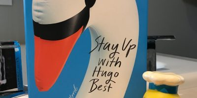 Book cover of Stay Up With Hugo Best