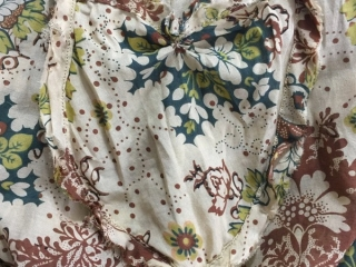 Ardsleydale Frock in blushed meadow floral silk voile by Ivey Abitz