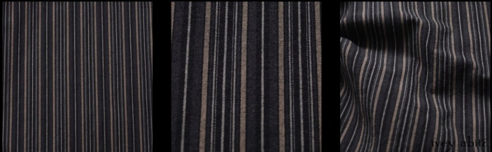 Rustic Stretchy Striped Cotton