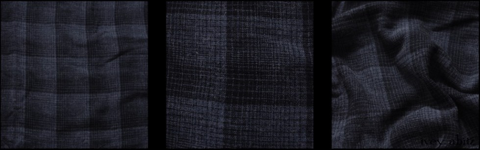Sapphire Plaid Wool Weave