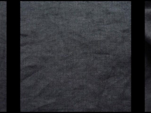 Blue Slate Washed Linen