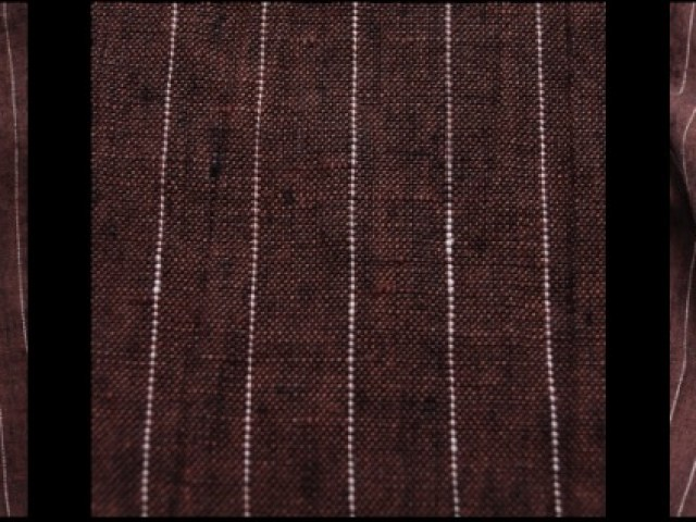 Brick Striped Linen