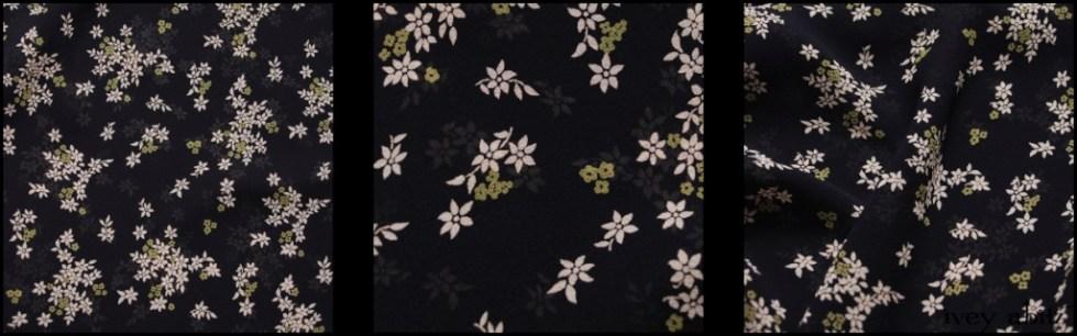 Chimney and Lawn Floral Silk Chiffon