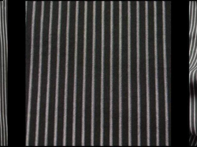 Gable Green Striped Cotton