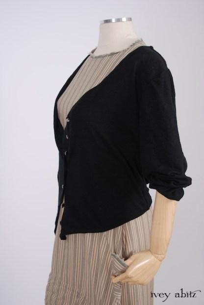 IA101 Elliot Jacket in Chimney Lightweight Linen Knit