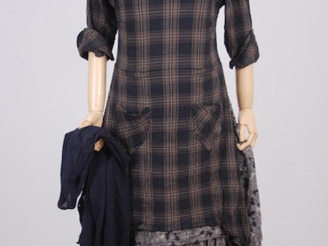 Elliot Jacket in Lakeland Lightweight Linen Knit; Dennison Dress in Lakeland Plaid Cotton Voile; Limited Edition Blanchefleur Frock in Lakeland Floral Weave