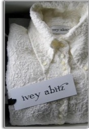 an ivey abitz shirt in a box