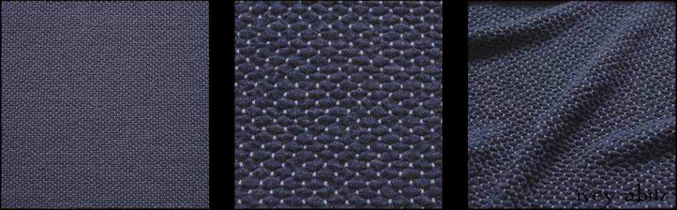 Onward Blue Puckered Knit