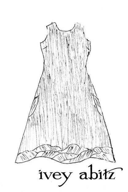 Grasmere Frock in Shoreline Gingham Crushed Weave - Size Medium/Large