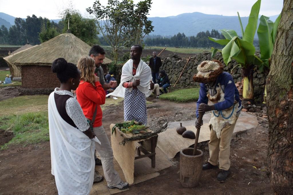 Rwanda village