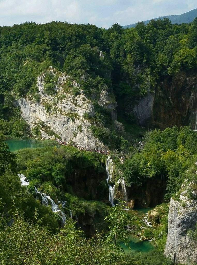 laghi di plitvice dall alto