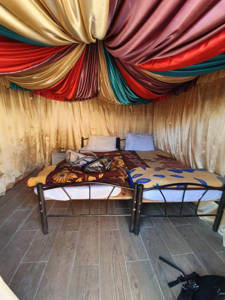 interno tenda petra