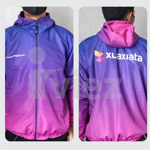 Jaket printing custom murah