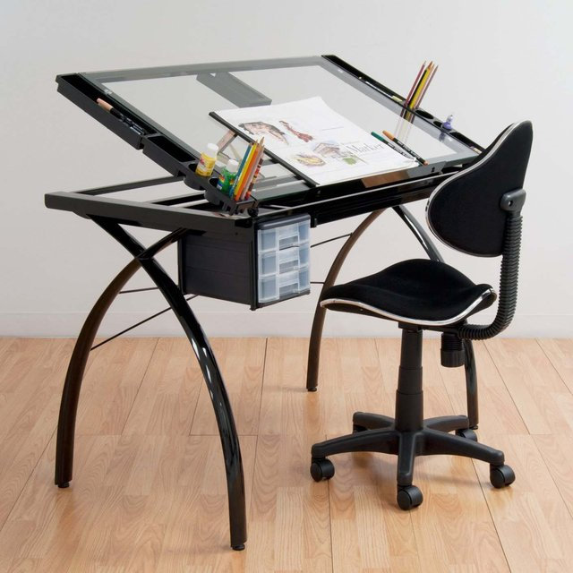Futura Drafting Table  iVIP BlackBox