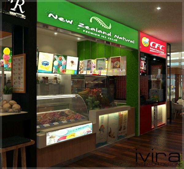 Open Food Court Ivira Interior Design