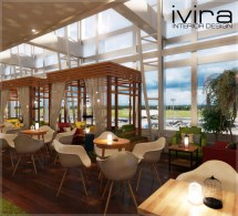 Open Food Court Ivira Interior Design