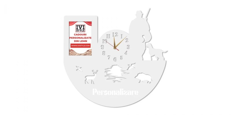 Ceas-pentru-Vanatori-cu-Rama-foto-Personalizat-crem
