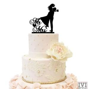 Cake Topper pentru Nunta 01