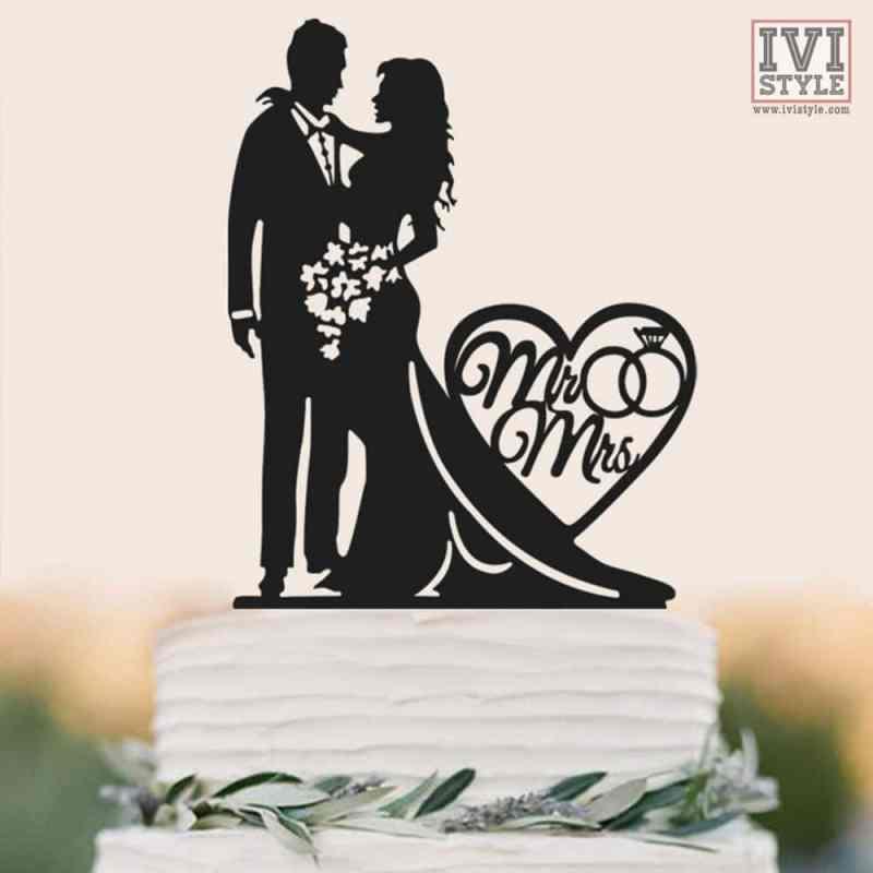 Cake Topper pentru Nunta 02