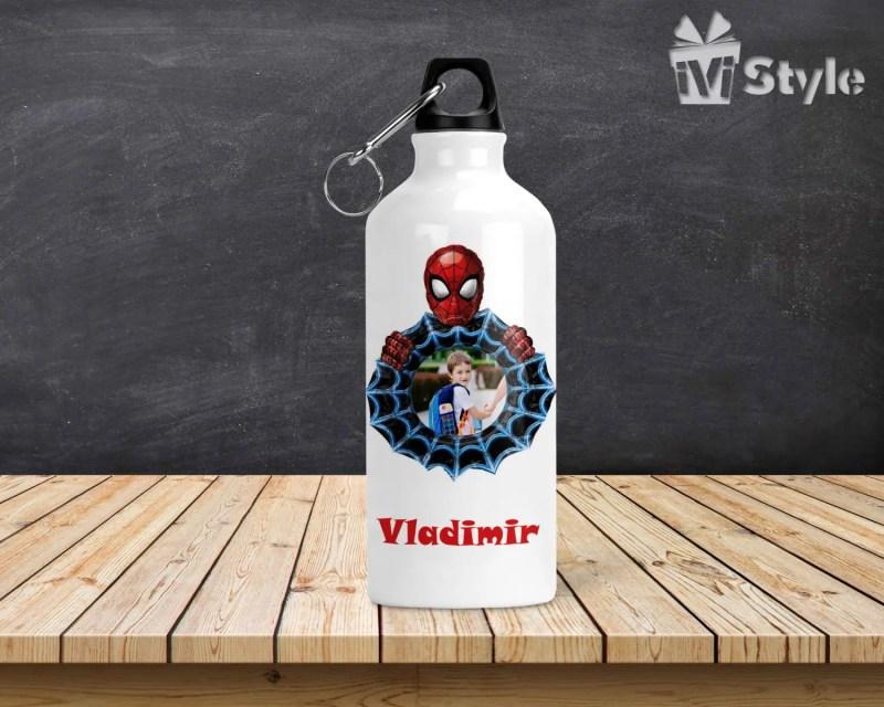 Sticla de Apa Personalizata Spiderman