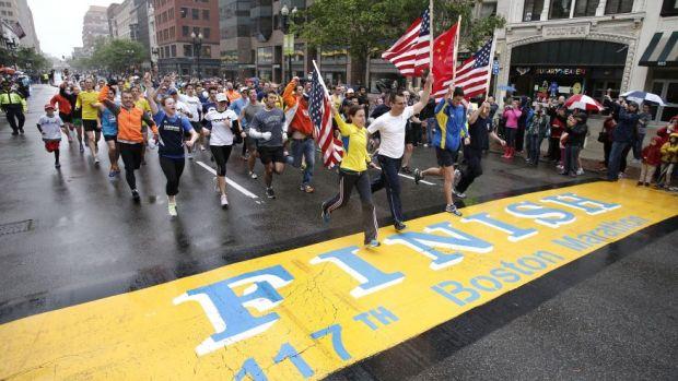 Boston Marathon Last12