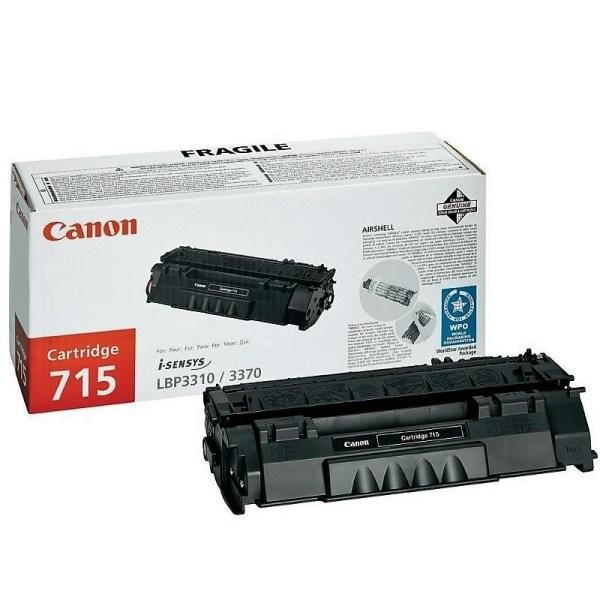 Заправка картриджа Canon 715 в Москве