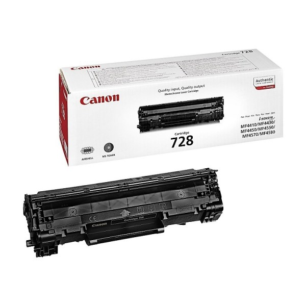 Заправка картриджа Canon 728 в Москве