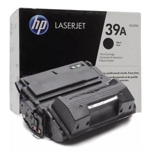 Заправка картриджа HP 39A (Q1339A) в Москве