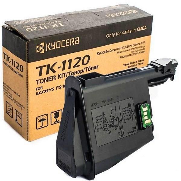 Заправка картриджа Kyocera TK-1120 в Москве