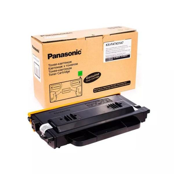 Заправка картриджа Panasonic KX-FAT431A7 заказать в Москве