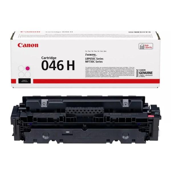 Заправка картриджа Canon 046H Magenta в Москве