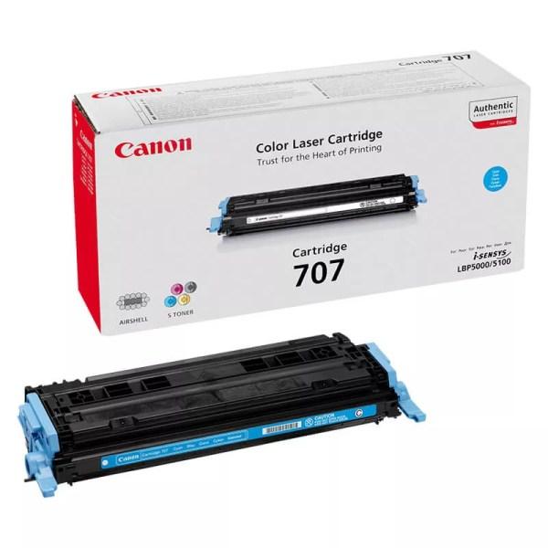 Заправка картриджа Canon 707 Cyan заказать в Москве