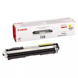 Заправка картриджа Canon 729 Yellow заказать в Москве