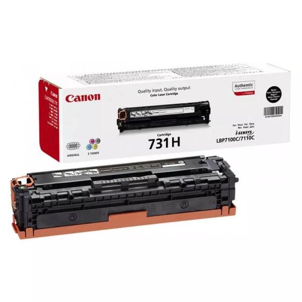 Заправка картриджа Canon 731H Black заказать в Москве