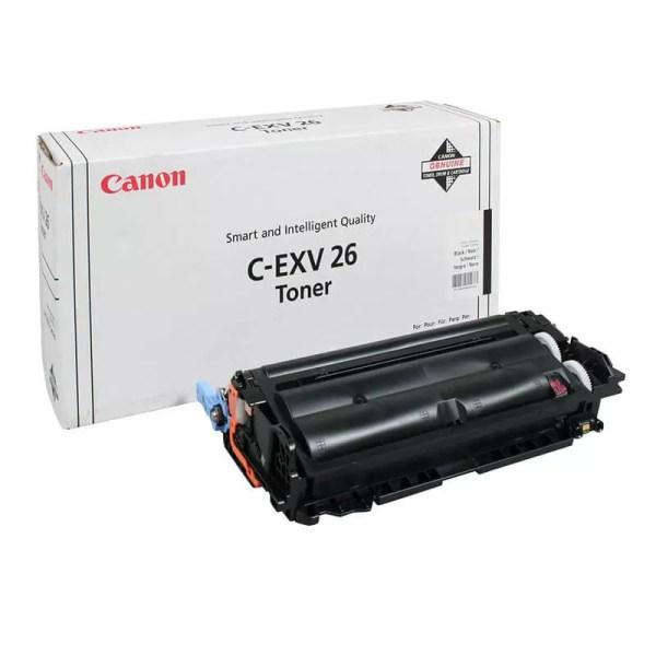 Заправка картриджа Canon C-EXV26 Black заказать в Москве