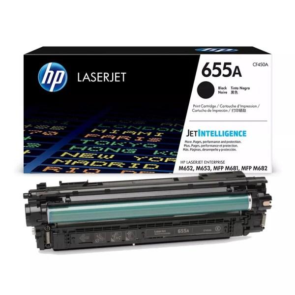 Заправка картриджа HP 655A (CF450A) в Москве