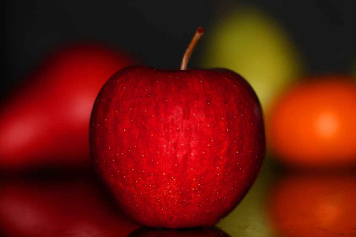 agriculture apple blur bright