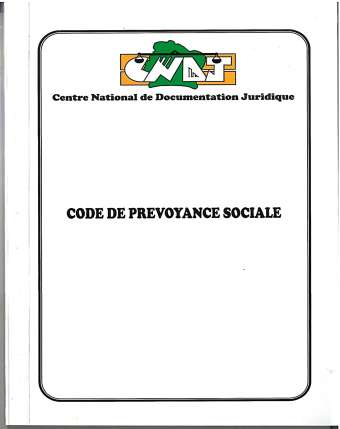 Code de prévoyance sociale