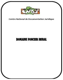 Domaine foncier rural