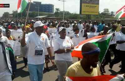 Burundi: Manifestation contre le rapport des experts de l'ONU sur les droits de l'homme