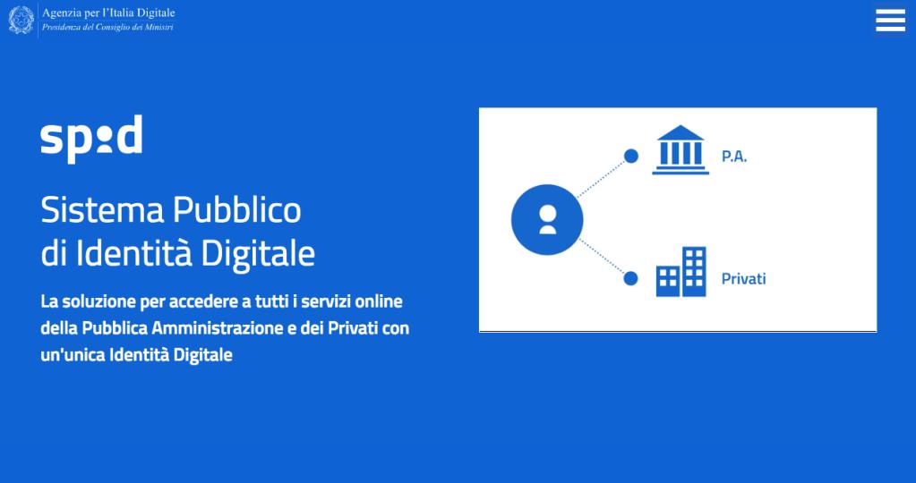Il sistema pubblico di identità digitale