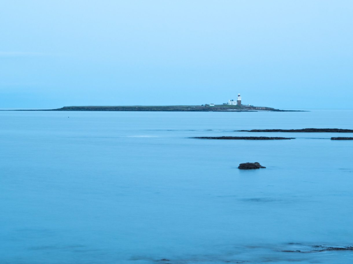 Coquet Island during the blue hour