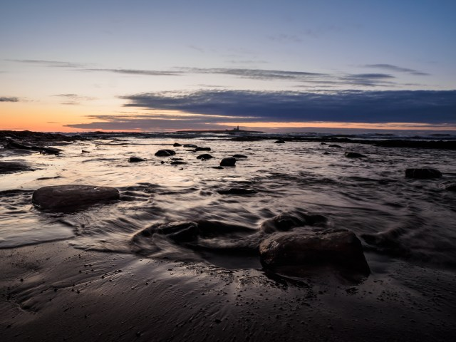 Coquet Island just before dawn