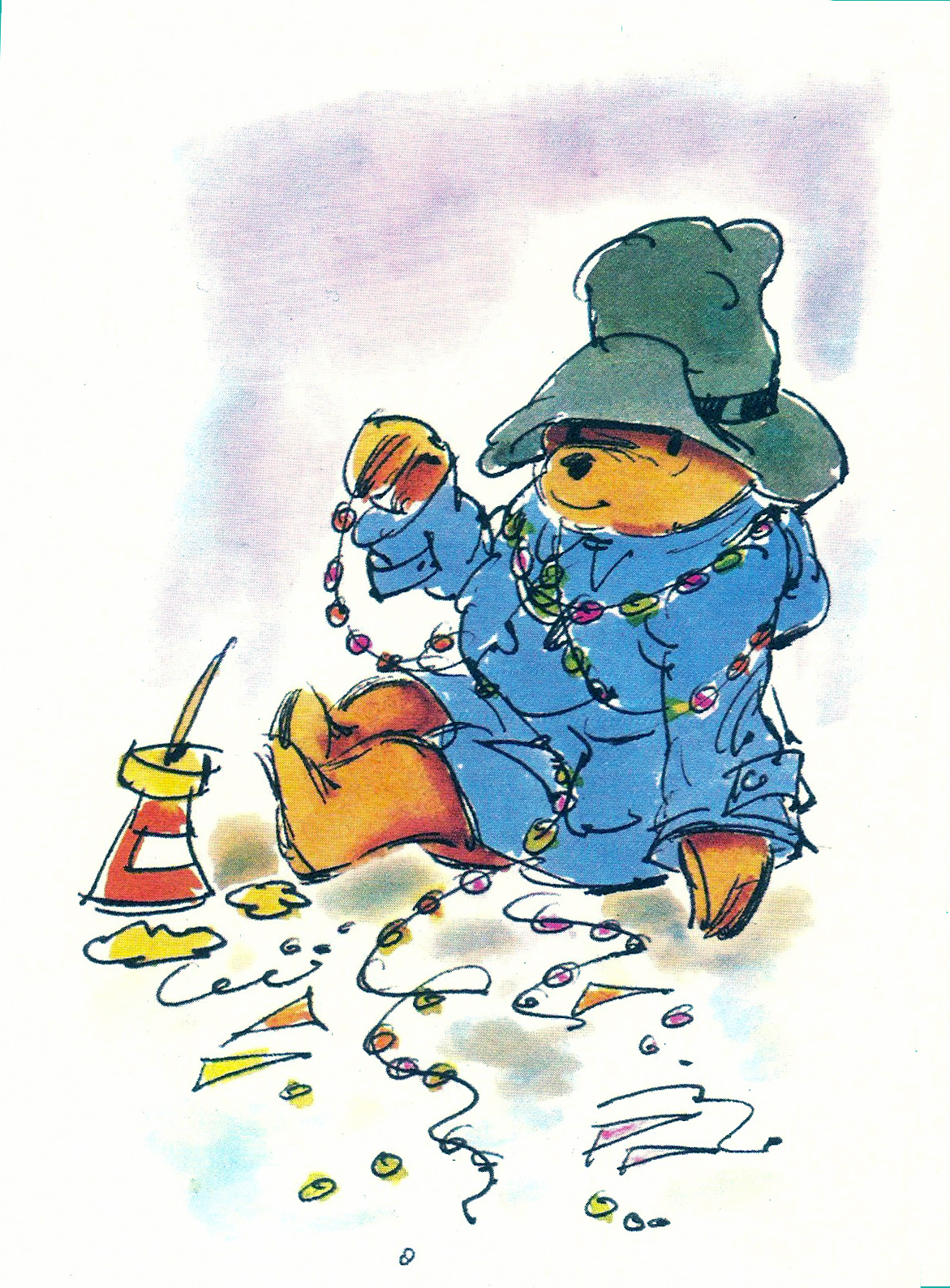 Merry Christmas From Paddington Bear The World Of