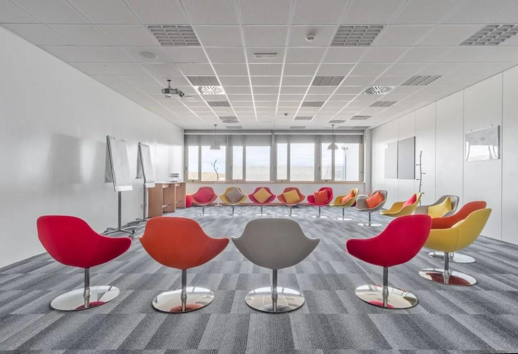 Diseño Oficinas FIDAMC - Ivory