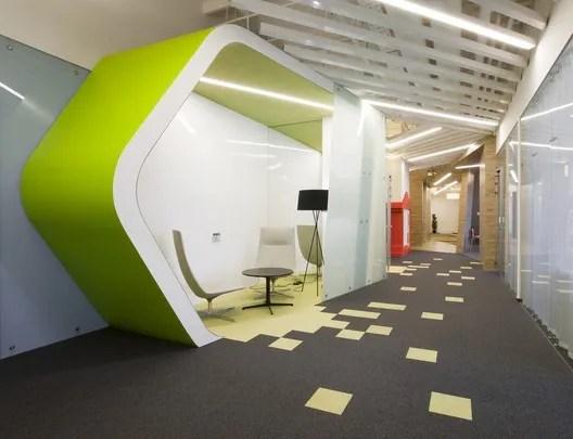 Diseño de oficinas modernas, Za Bor