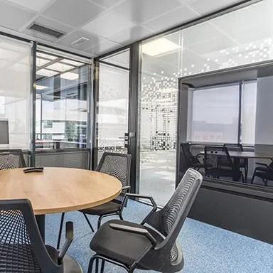 Oficinas Merz, gestión del espacio, diseño de oficinas, Ivory